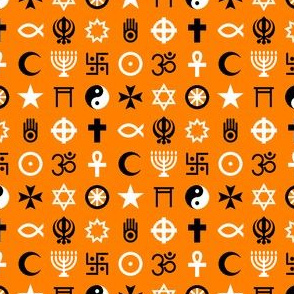 multifaith 18 : orange