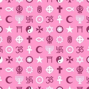 multifaith 18 : pink