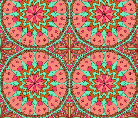 Rrcoral_heart_mandala_with_more_turquoise_black_outlines-01_shop_preview