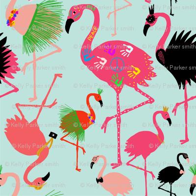 Black Swan Flamingo