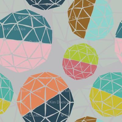 Mid-Century Globes