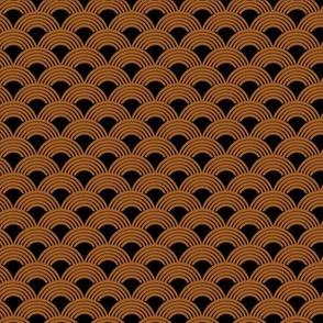 Copper Half Spiral Layers