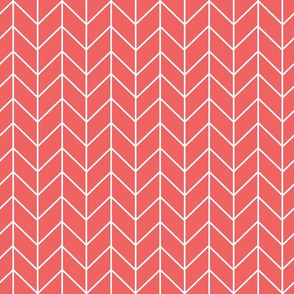 coral chevrons fabric chevron fabric nursery baby coordinate