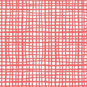 coral grid fabric coordinating interior decor coral fabric nursery baby