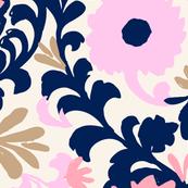 Boho Blooms Pink