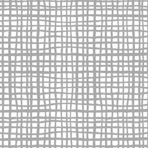 grey grid fabric nursery baby grid design grey