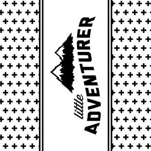 Little Adventurer - lovey layout minky fabric