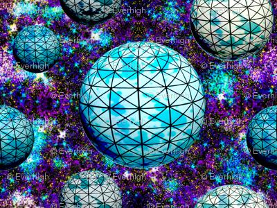 Geodesic space balls