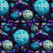 Geodesic space balls