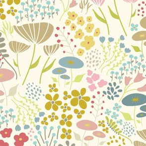 Fun Floral Cream