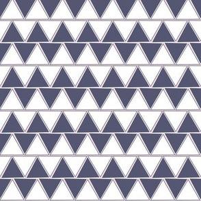 Triangle Zag_muted navy
