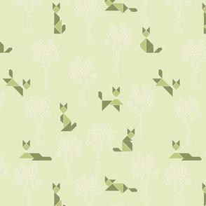 fox_tangram_monochrome_vert