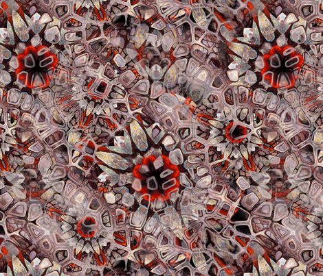 barnacles fabric by sigs_creations on Spoonflower - custom fabric