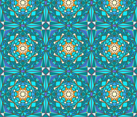 Geodesic fabric by jadegordon on Spoonflower - custom fabric