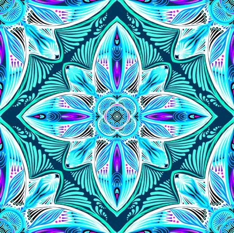 Brightest Tile 3 fabric by jadegordon on Spoonflower - custom fabric