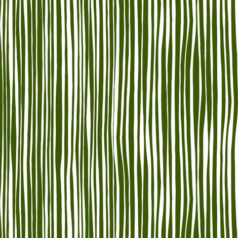 cirque stripe green white fabric by scrummy on Spoonflower - custom fabric