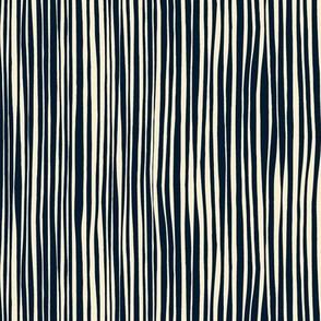 cirque stripe indigo cream