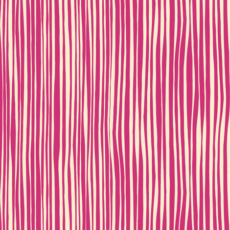 cirque stripe pink cream fabric by scrummy on Spoonflower - custom fabric