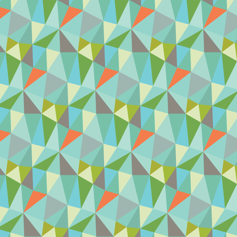 geodesic fabric by studiojenny on Spoonflower - custom fabric
