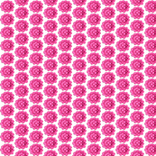 Flower power / Pink Flowers Painted