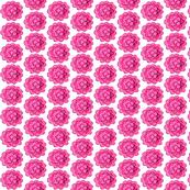 boho Flower power / Pink Flowers Painted