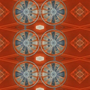 Submarine Orange Sea sewindigo