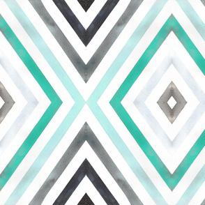 Mod Diamond Stripe mint