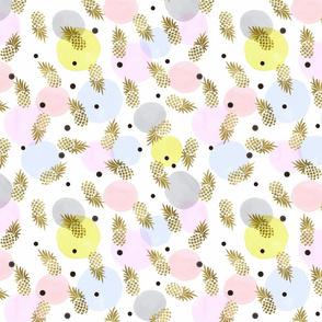 Pineapple Confetti Dots