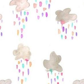 rainbow raincloud