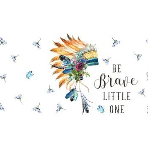 "14""x4"" with 1.5"" Spacing / Be Brave Little One / Young Souls"
