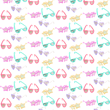 sunglasses mini fabric by erinanne on Spoonflower - custom fabric
