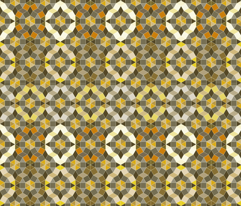 Medieval Geodesic fabric by mag-o on Spoonflower - custom fabric