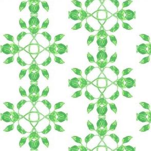 Art nouveau leafs