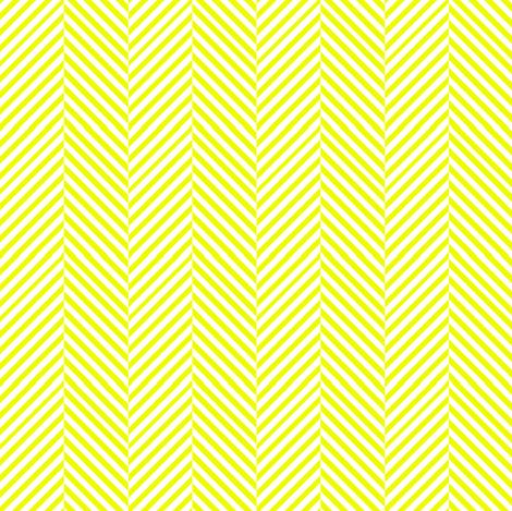 Yellow and white herringbone chevron // Sunshine herringbone fabric by magentarosedesigns on Spoonflower - custom fabric