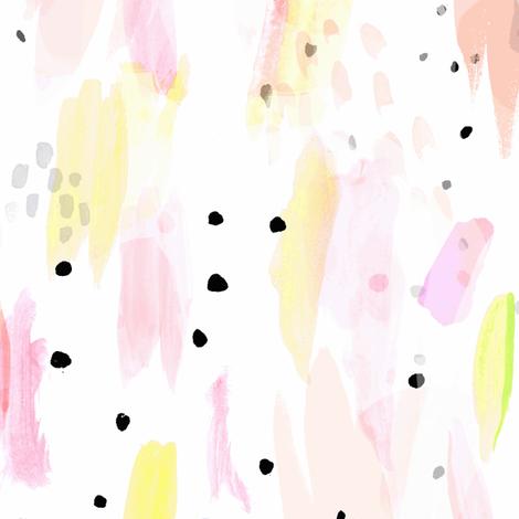 Confetti Vanilla Icing fabric by crystal_walen on Spoonflower - custom fabric