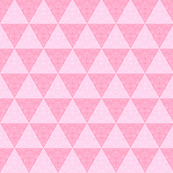 Triangles  pink lace // pink triangle