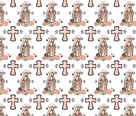 Rmary_and_cross_for_spoonflower_fabric_or_digital_paper_shop_preview