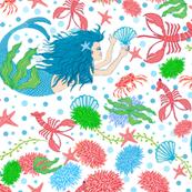mermaids ocean life