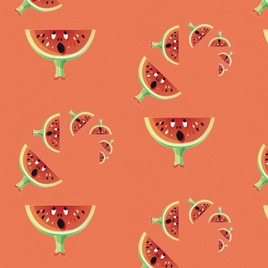 Surprised Watermelon 2