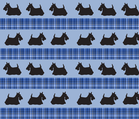 scotty_design_two fabric by dogdaze_ on Spoonflower - custom fabric
