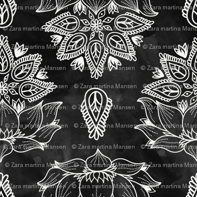Black_Lotus_Watercolor_Flowers