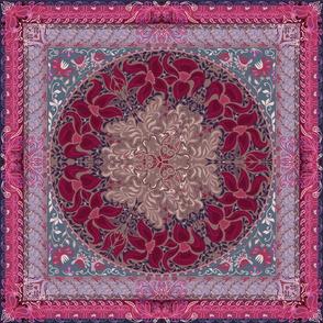 Elegant chic boho stylish floral pattern