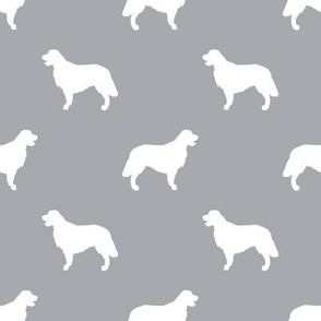 Golden Retriever silhouette dog breed fabric quarry