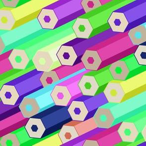 Prismatic Pencils - Candy