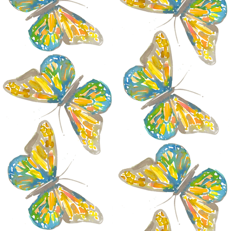 the monarch fabric by erinanne on Spoonflower - custom fabric
