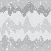 Foggy Gray Mountain