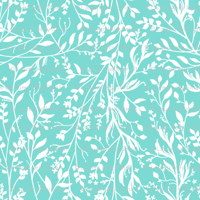 TANGLED, Turquoise