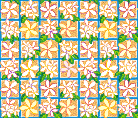 Wall Flowers fabric by madtropic on Spoonflower - custom fabric