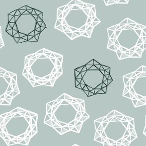 Geodesic Wreaths