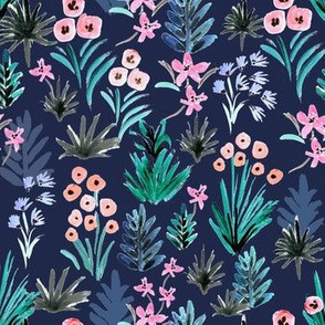 Tropical Ditsy Floral